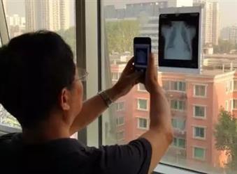 医生及患者通用:如何用手机翻拍X线片?