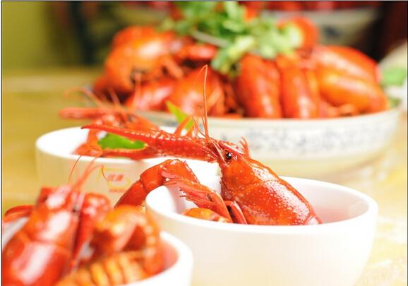 监测表明小龙虾可食用肉质部分中铅